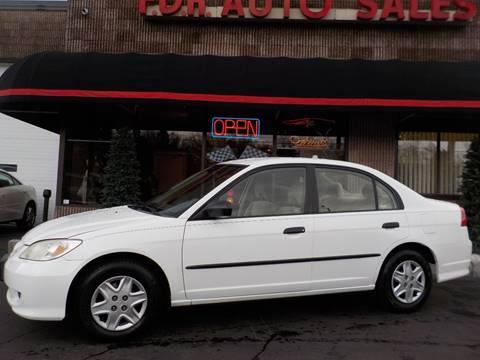 2005 Honda Civic for sale in Springfield, MA