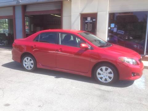 2010 Toyota Corolla for sale at Triangle Motorcar LLC in Lancaster PA