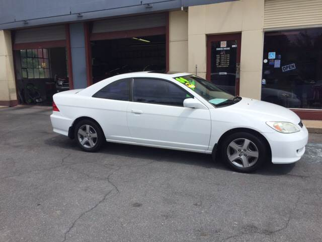 2004 Honda Civic For Sale At Triangle Motorcar LLC In Lancaster PA