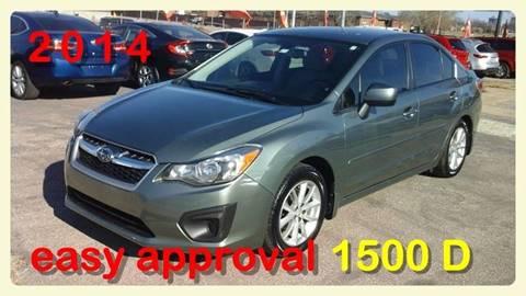 2014 Subaru Impreza for sale in Oklahoma City, OK