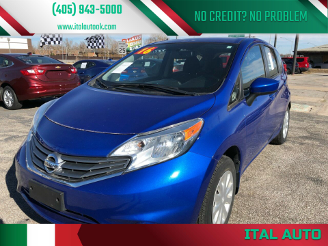 2016 Nissan Versa Note for sale at Ital Auto in Oklahoma City OK