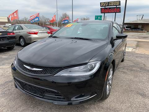 2016 Chrysler 200 for sale in Oklahoma City, OK