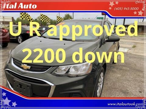 2017 Chevrolet Sonic for sale at Ital Auto in Oklahoma City OK