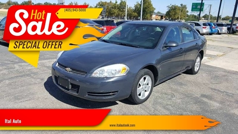 2008 Chevrolet Impala for sale at Ital Auto in Oklahoma City OK