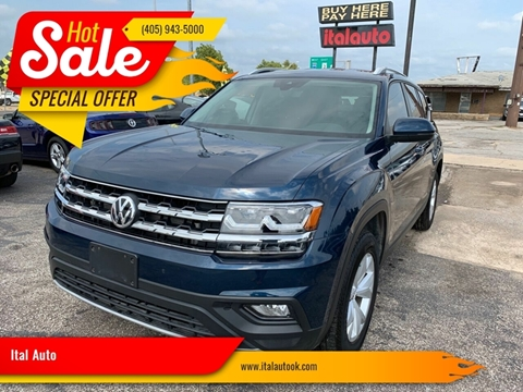 2018 Volkswagen Atlas for sale at Ital Auto in Oklahoma City OK