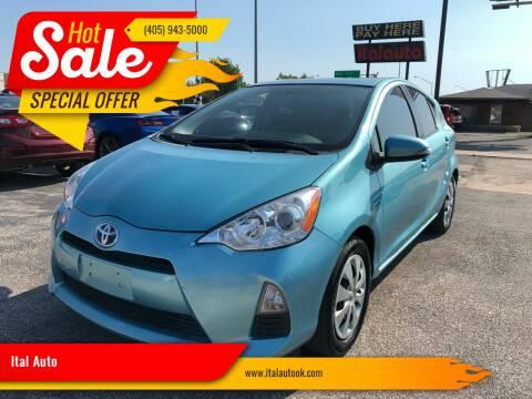 2014 Toyota Prius c for sale at Ital Auto in Oklahoma City OK