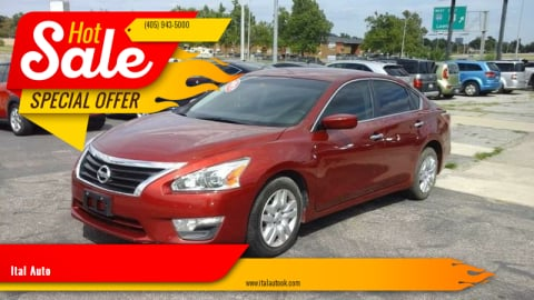 2013 Nissan Altima for sale at Ital Auto in Oklahoma City OK