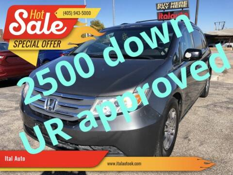 2012 Honda Odyssey for sale at Ital Auto in Oklahoma City OK
