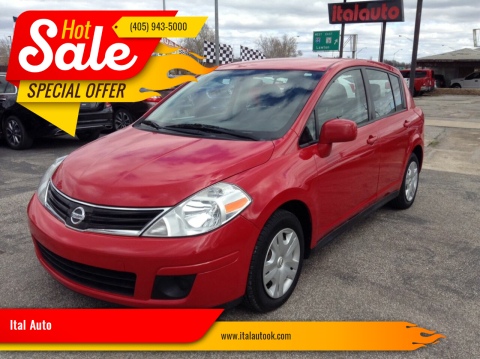 2012 Nissan Versa for sale at Ital Auto in Oklahoma City OK