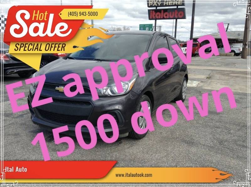 2016 Chevrolet Spark for sale at Ital Auto in Oklahoma City OK