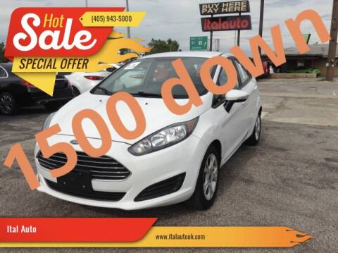 2015 Ford Fiesta for sale at Ital Auto in Oklahoma City OK