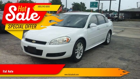 2014 Chevrolet Impala Limited for sale at Ital Auto in Oklahoma City OK