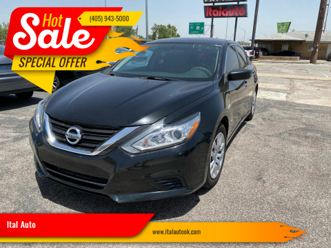 2016 Nissan Altima for sale at Ital Auto in Oklahoma City OK