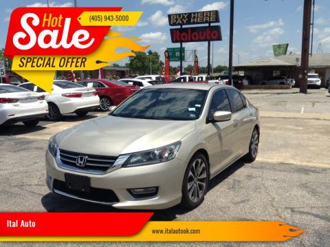 2013 Honda Accord for sale at Ital Auto in Oklahoma City OK