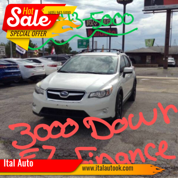 2015 Subaru XV Crosstrek for sale at Ital Auto in Oklahoma City OK