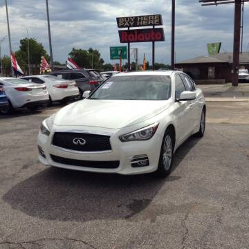 2015 Infiniti Q50 for sale at Ital Auto in Oklahoma City OK