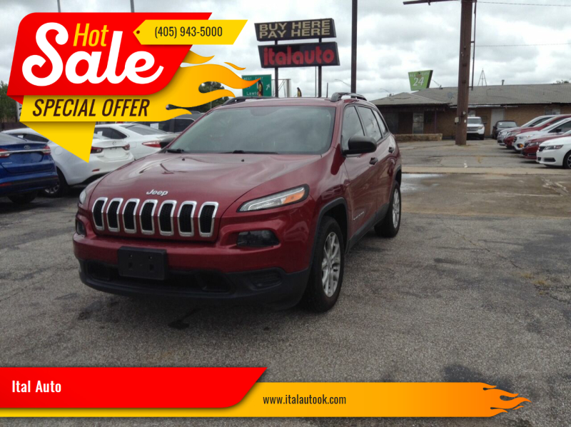 2016 Jeep Cherokee for sale at Ital Auto in Oklahoma City OK