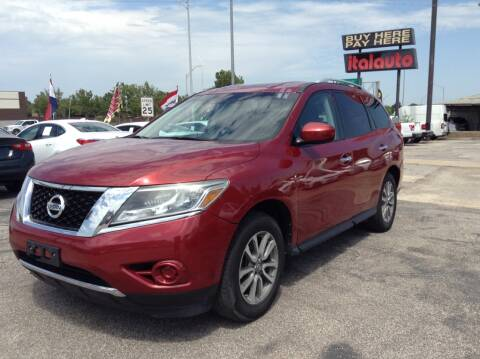 2014 Nissan Pathfinder for sale at Ital Auto in Oklahoma City OK