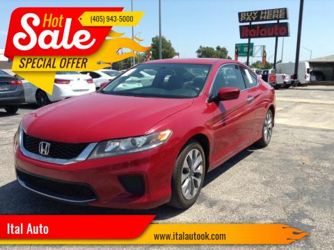 2014 Honda Accord for sale at Ital Auto in Oklahoma City OK