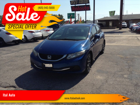 2013 Honda Civic for sale at Ital Auto in Oklahoma City OK