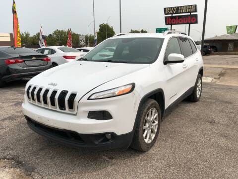 2014 Jeep Cherokee for sale at Ital Auto in Oklahoma City OK