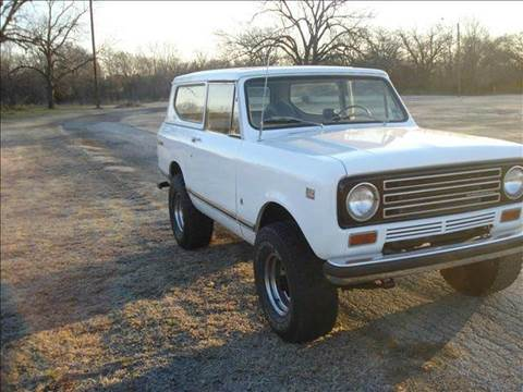 1971 International scout 2  for sale in Dallas, TX