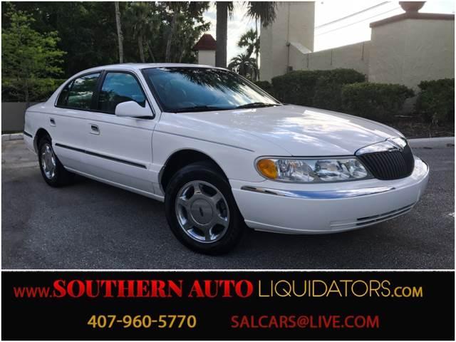 1999 Lincoln Continental 4dr Sedan - Winter Springs FL