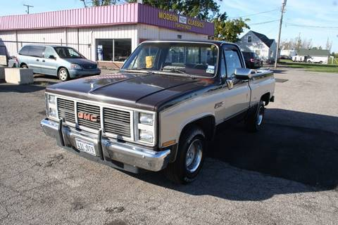 1985 GMC C/K 1500 Series for sale at Modern Classics Car Lot in Westland MI