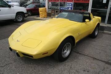 1979 Chevrolet Corvette for sale at Modern Classics Car Lot in Westland MI