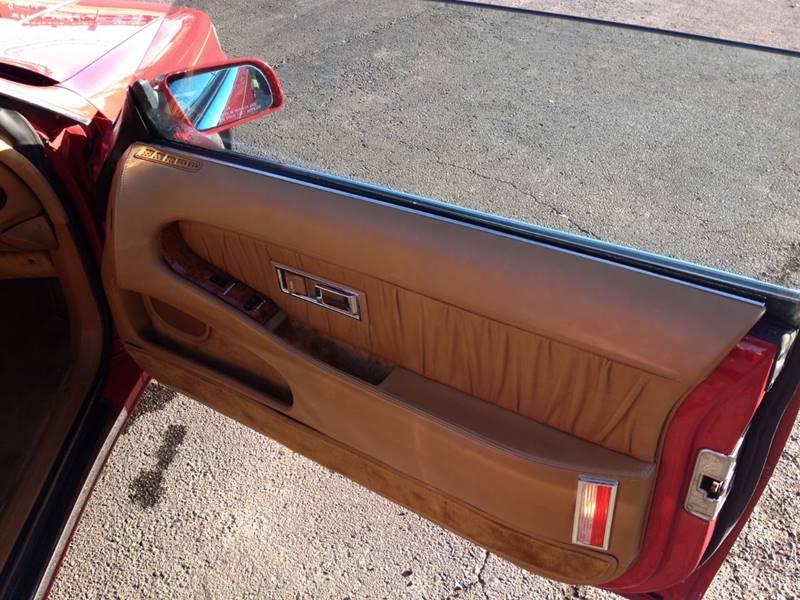 1989 Chrysler TC Turbo 2dr Convertible - Westland MI