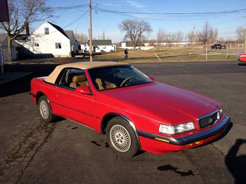 1989 Chrysler TC for sale in Westland, MI