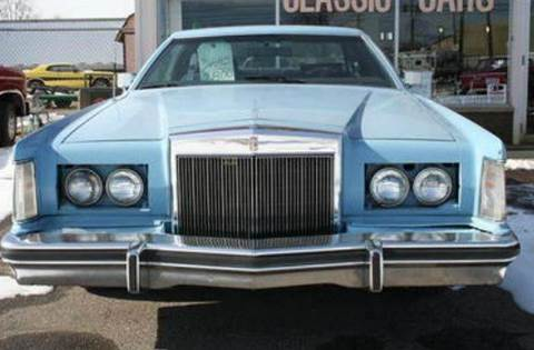 1979 Lincoln Continental for sale at Modern Classics Car Lot in Westland MI