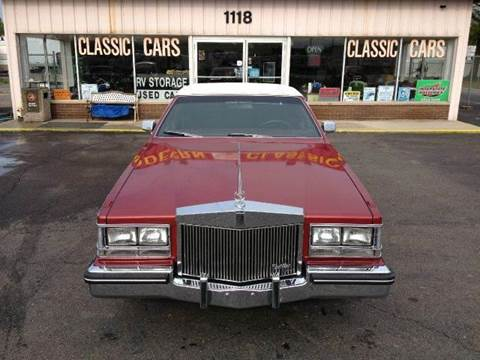 1985 Cadillac Seville for sale at Modern Classics Car Lot in Westland MI
