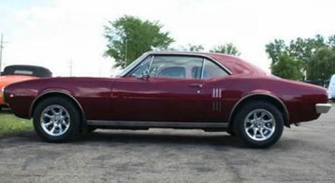 1967 Pontiac Firebird for sale at Modern Classics Car Lot in Westland MI