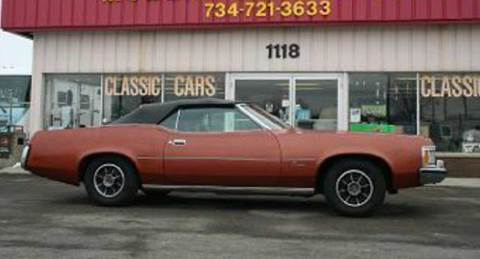 1973 Mercury Cougar for sale at Modern Classics Car Lot in Westland MI