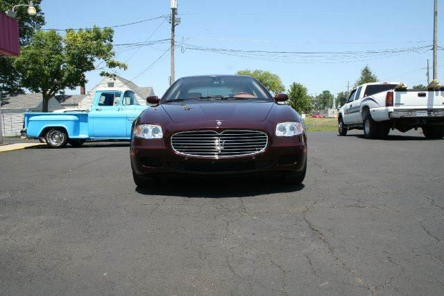 2006 maserati quattroporte sport gt in westland mi modern classics car lot. Black Bedroom Furniture Sets. Home Design Ideas