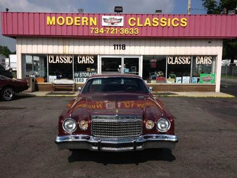 1977 Chrysler Cordoba for sale at Modern Classics Car Lot in Westland MI