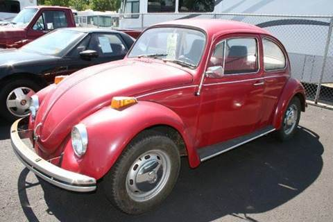 1970 Volkswagen Beetle for sale at Modern Classics Car Lot in Westland MI