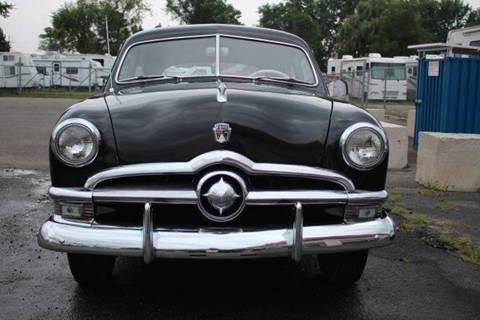 1950 Ford Sedan for sale at Modern Classics Car Lot in Westland MI