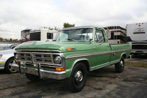 1972 Ford F-250 for sale at Modern Classics Car Lot in Westland MI