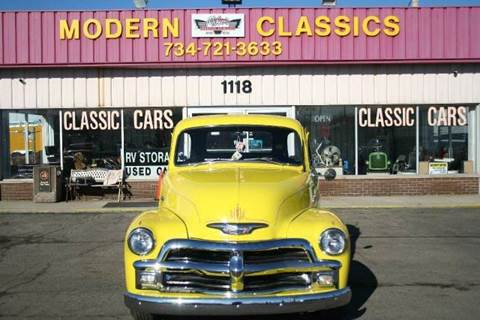 1955 Chevrolet 3100 for sale at Modern Classics Car Lot in Westland MI