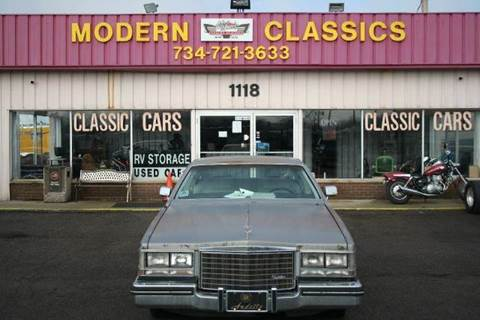 1983 Cadillac Seville for sale at Modern Classics Car Lot in Westland MI