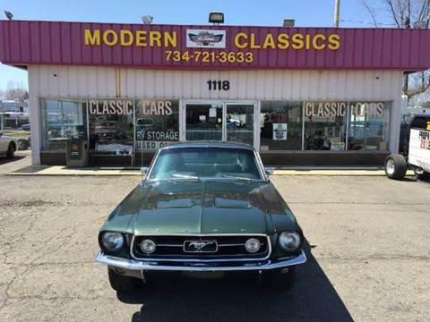 1967 Ford Mustang for sale at Modern Classics Car Lot in Westland MI