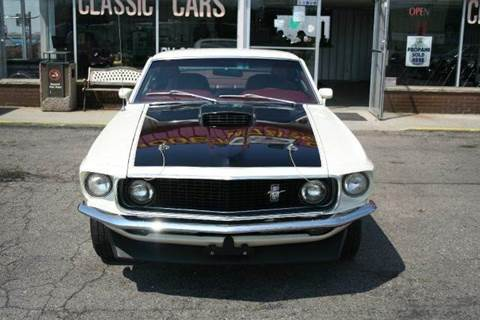 1969 Ford Mustang for sale at Modern Classics Car Lot in Westland MI