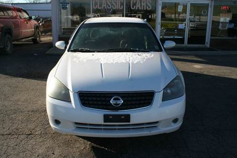2005 Nissan Altima for sale at Modern Classics Car Lot in Westland MI