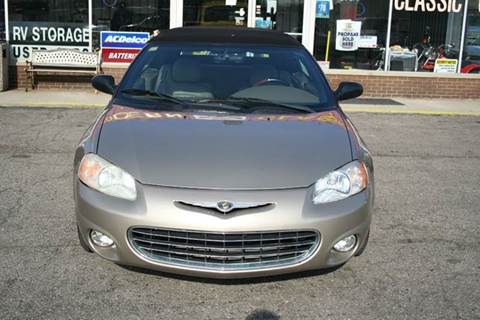 2002 Chrysler Sebring for sale at Modern Classics Car Lot in Westland MI