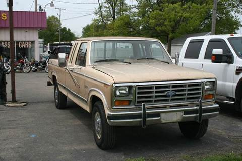 1983 Ford F-250 for sale at Modern Classics Car Lot in Westland MI