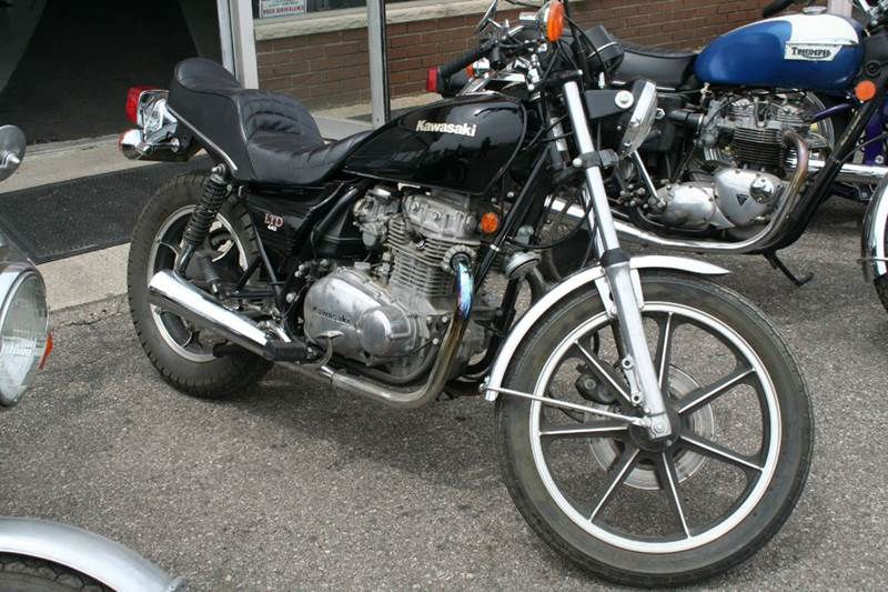 1981 Kawasaki LTD 450 for sale at Modern Classics Car Lot in Westland MI