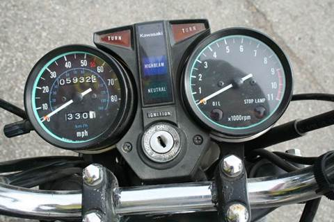 1981 Kawasaki LTD 450