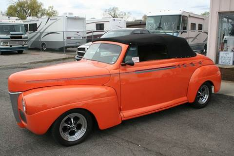 1941 Ford Convertible for sale at Modern Classics Car Lot in Westland MI